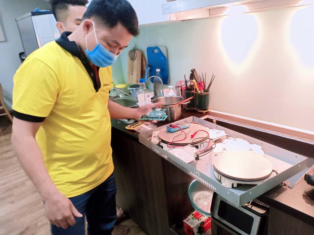 Đơn giá bảo hành bếp từ AEG