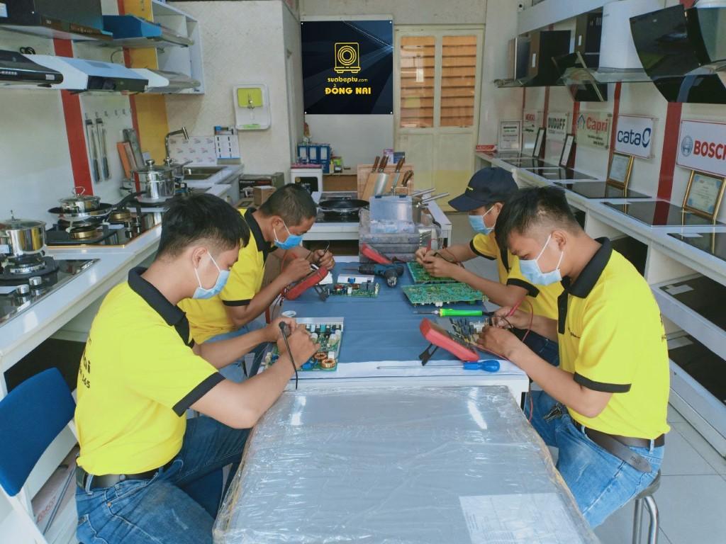 Dịch vụ sửa bếp từ Aber tại TP. HCM