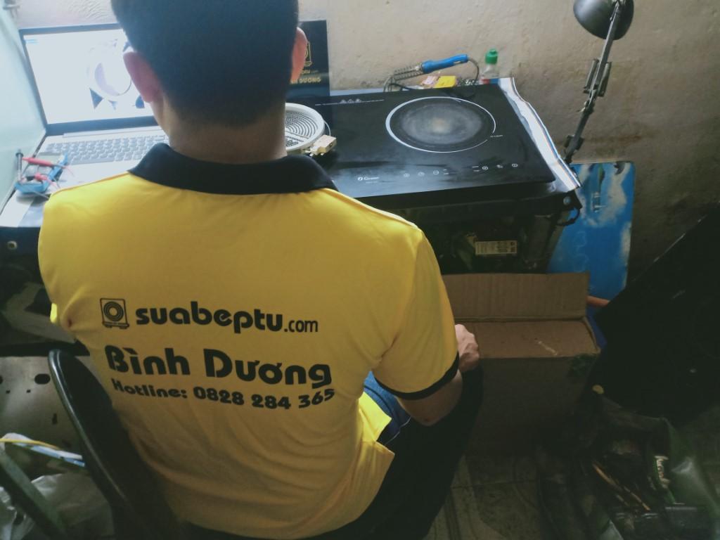 Dịch vụ sửa bếp từ Ebox tại nhà