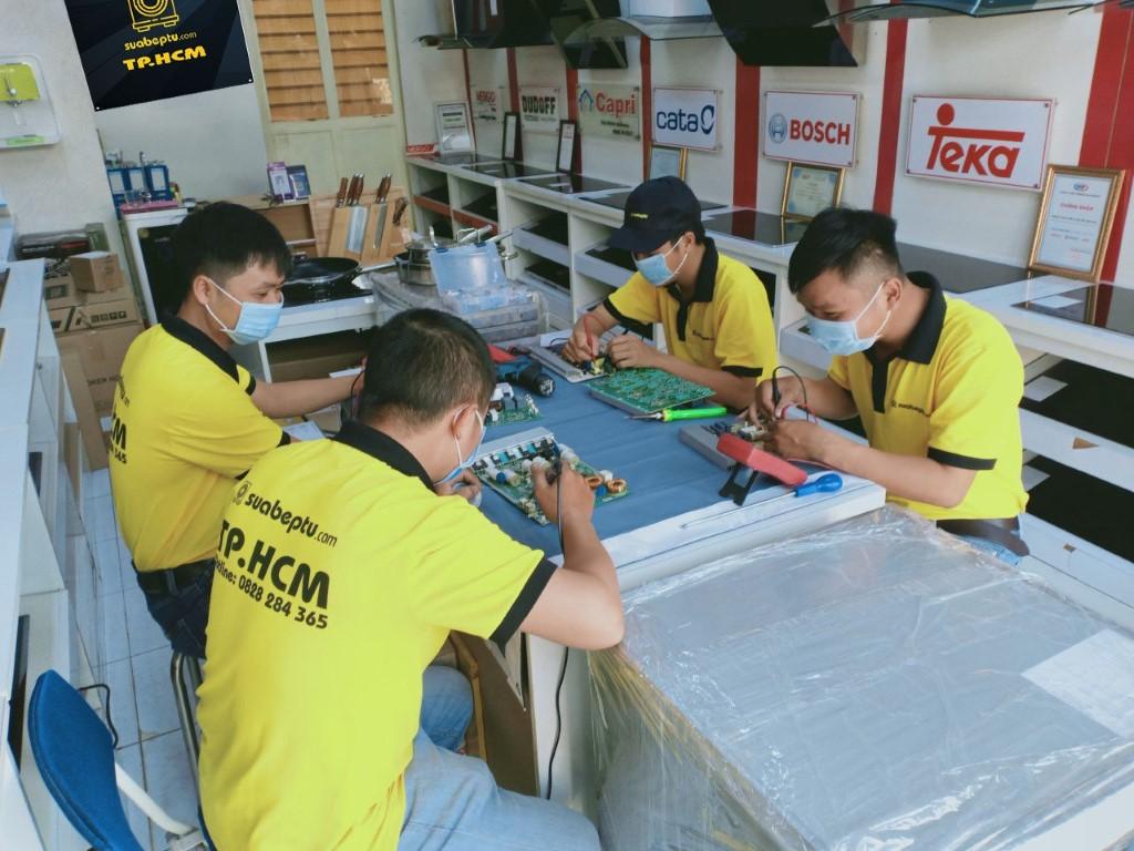 Dịch vụ sửa bếp từ Romal tại TP. HCM