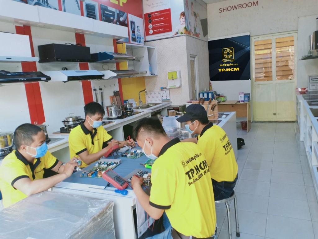 Dịch vụ sửa bếp từ Steba tại TP. HCM