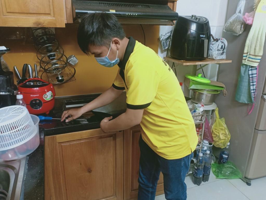 Dịch vụ bảo hành bếp hồng ngoại Romal tại nhà