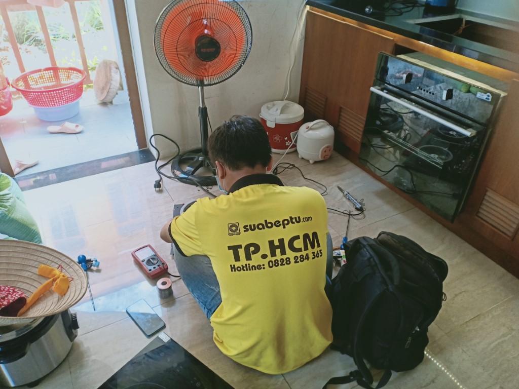Dịch vụ bảo hành bếp hồng ngoại Napoliz tại TPHCM