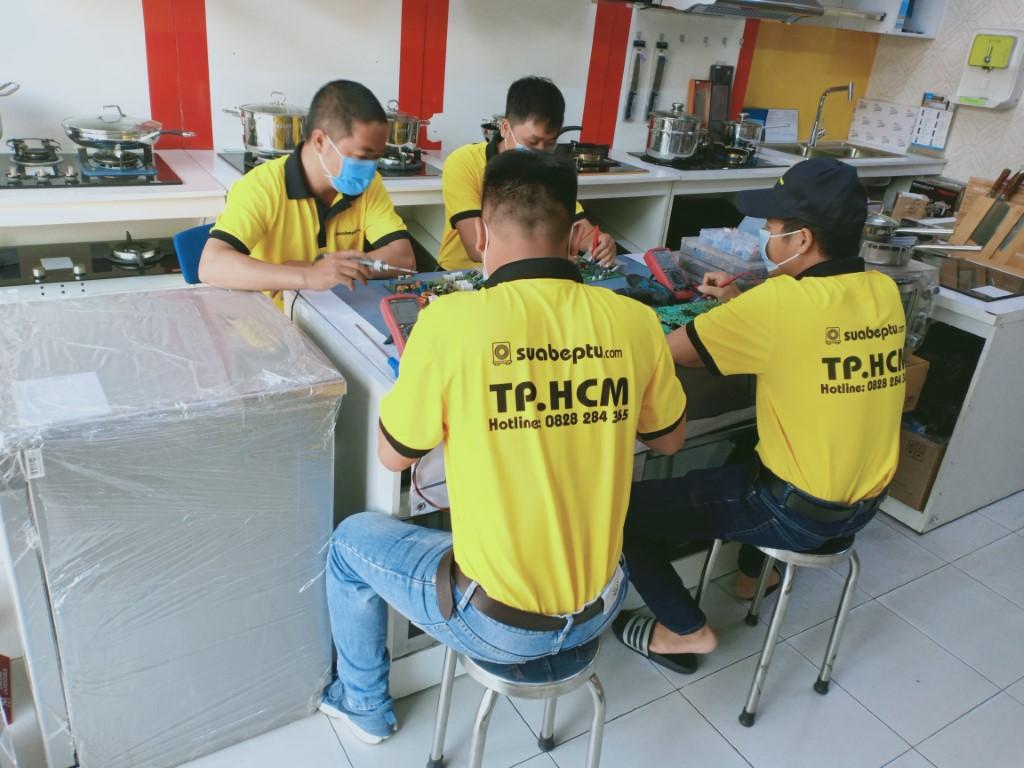Dịch vụ bảo hành bếp hồng ngoại Sanaky tại Bình Dương