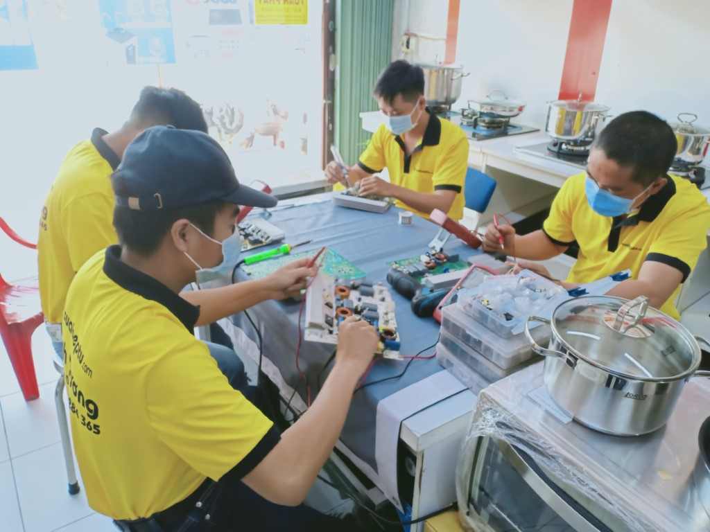 Dịch vụ sửa bếp từ Faber lỗi E0