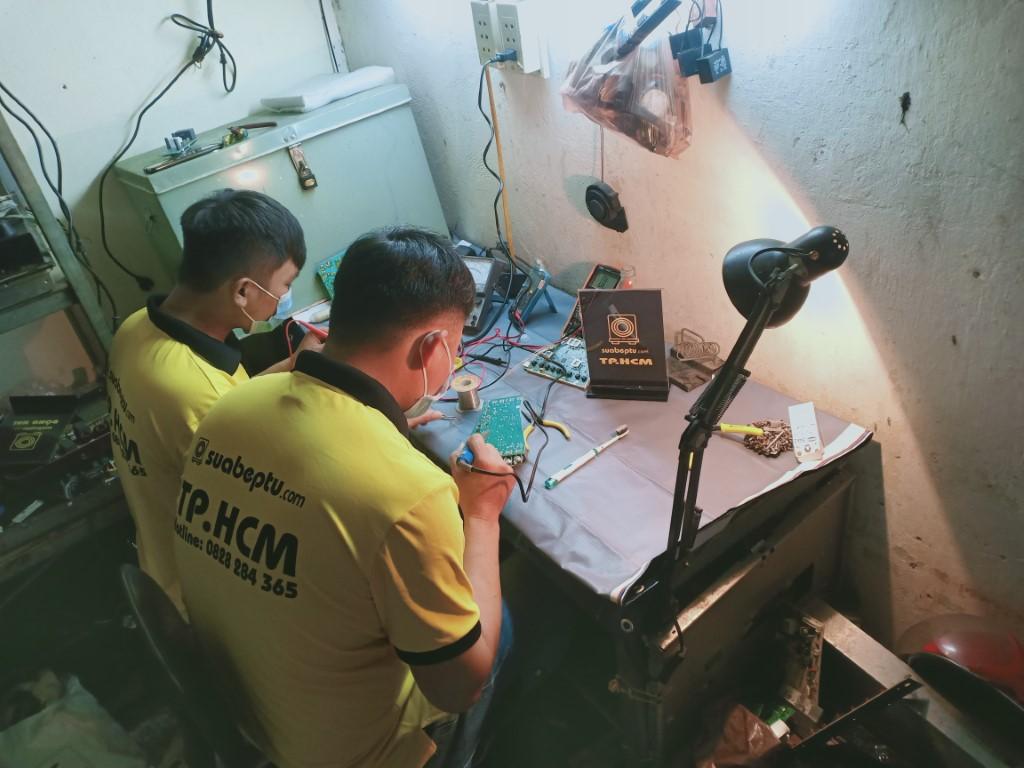 Dịch vụ sửa bếp từ Caso lỗi E2