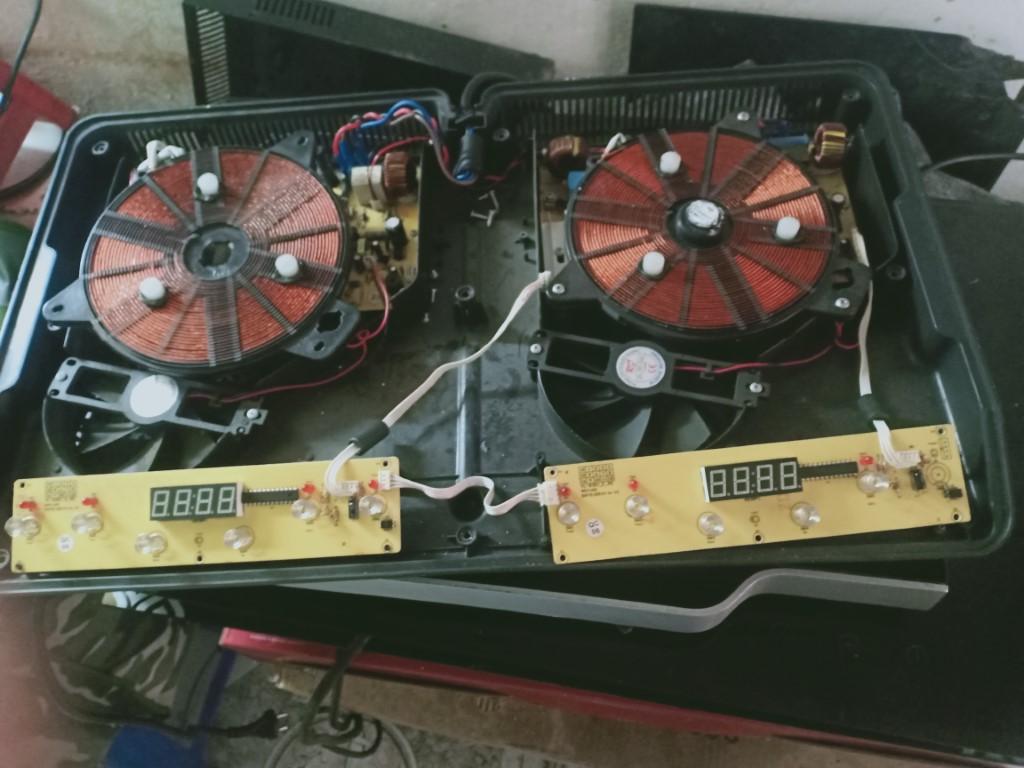 Hướng dẫn sửa bếp hồng ngoại Mergo bị lỗi chập điện