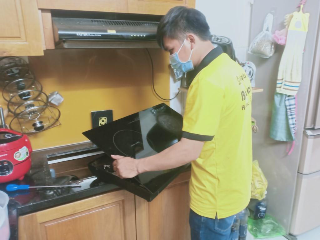 Kinh nghiệm sửa bếp hồng ngoại Bomann bị lỗi chập điện