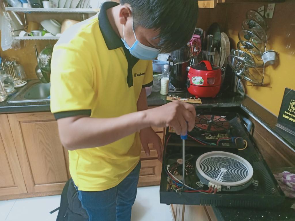 Kinh nghiệm sửa bếp hồng ngoại Indufix bị lỗi chập điện
