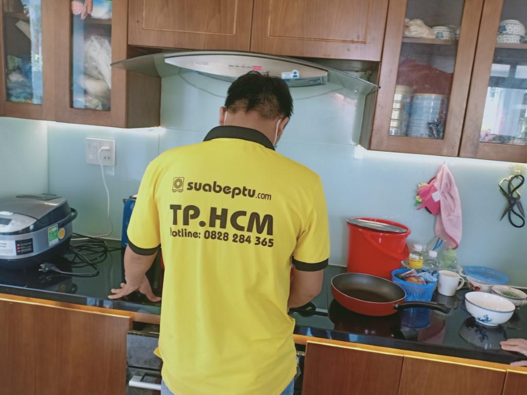 Sửa bếp hồng ngoại Fujika bị lỗi chập điện tại nhà