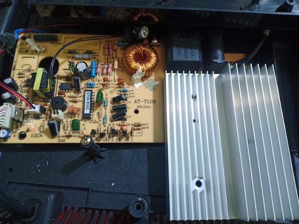 Cách sửa bếp hồng ngoại Aber bị lỗi chập điện tại nhà
