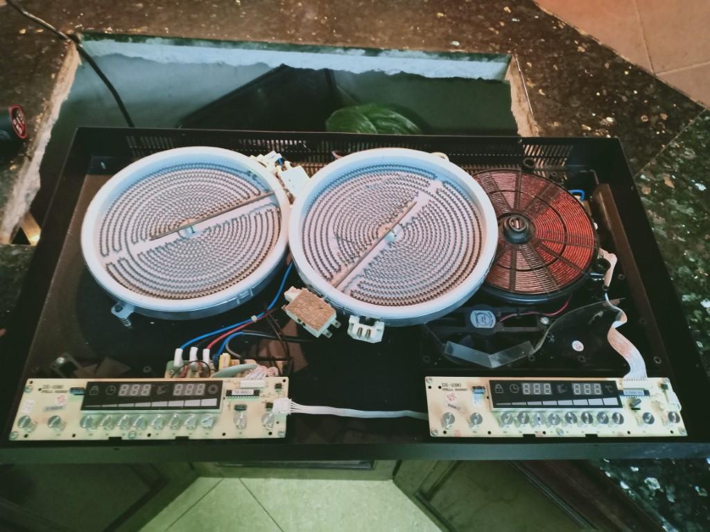 Cách tự sửa bếp hồng ngoại Baumatic bị lỗi chập điện