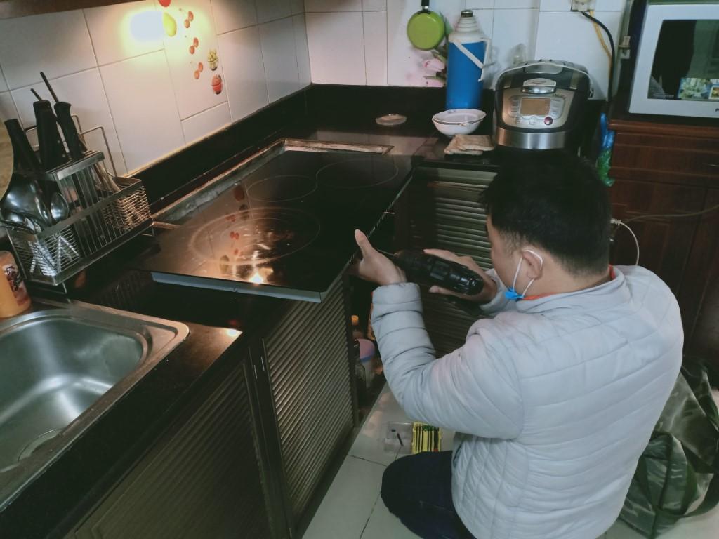Kinh nghiệm sửa bếp hồng ngoại Baumatic bị lỗi chập điện