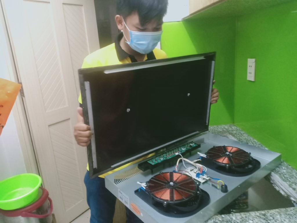 Dịch vụ sửa bếp từ Kanzler sôi yếu