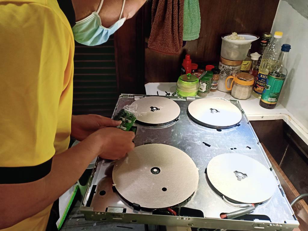 Dịch vụ sửa bếp từ Lorca tại nhà