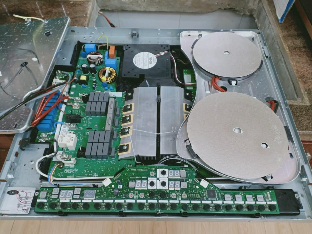 Hướng dẫn sửa bếp từ Fandi bị lỗi chập điện