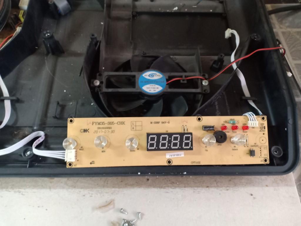 Hướng dẫn sửa bếp từ Eurosun bị lỗi chập điện
