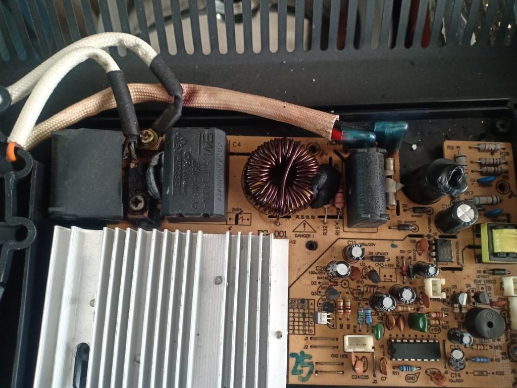 Hướng dẫn sửa bếp từ Bauer bị lỗi chập điện