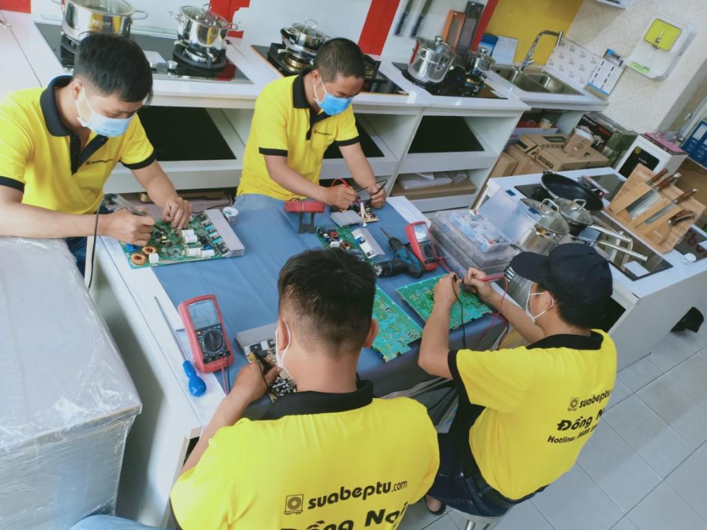 Dịch vụ sửa bếp từ Magic tại Biên Hòa