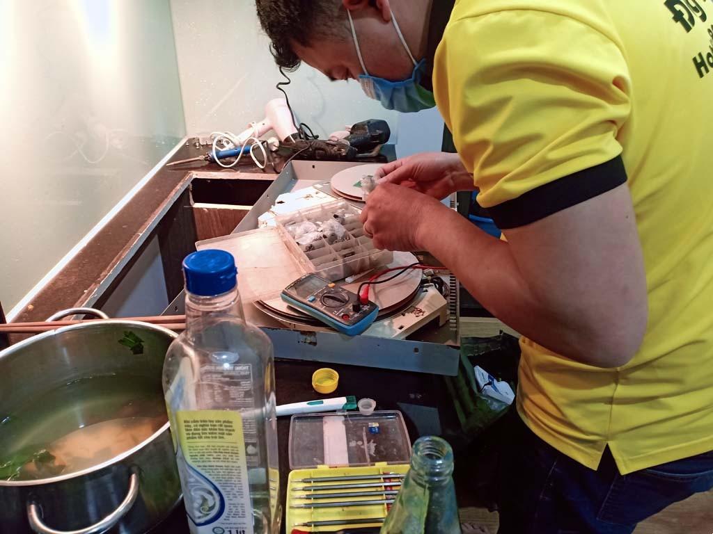 Dịch vụ bảo hành bếp hồng ngoại Sunhouse