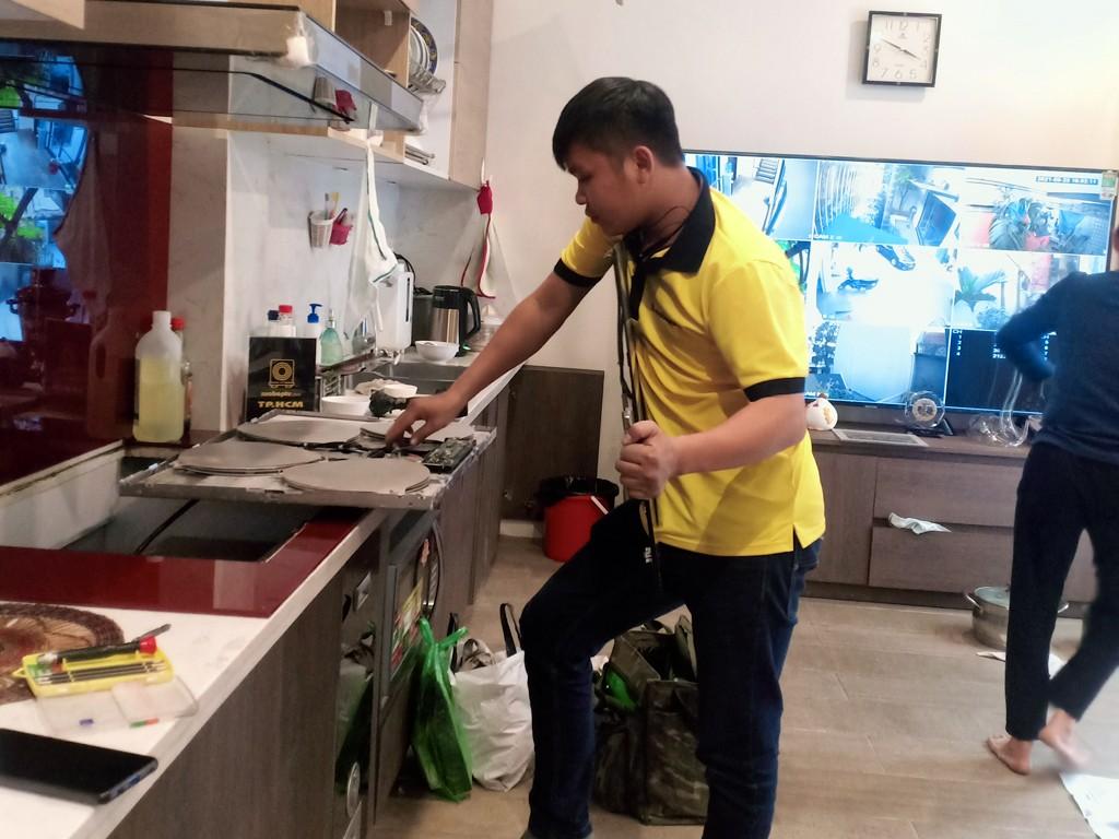 Dịch vụ bảo hành bếp hồng ngoại Cata